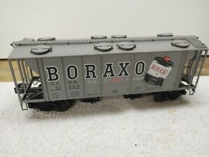 LIONEL 6- 17077 BORAXO PS-2 3-BAY HOPPER # 31063