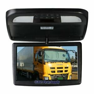 """12"""" 1366x768 HD In Car Overhead Roof Mounted For DVD DVR Display LCD Wide Screen"""