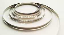 "Dental Matrix Band Roll 3/16"" 10 Feet Stainless Steel Tofflemire Composite Resin"