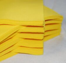 """Self Adhesive Craft Felt Fabric Material - Sold in 9"""" Squares Pack- Asst Colours"""