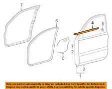TOYOTA OEM 4Runner-Door Window Sweep-Belt Molding Weatherstrip Left 6816235060