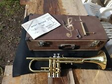 Trompete Antik mit Tasche