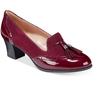 NEW Karen Scott Women's Terrie Pump Heels Size 8.5 M Wine $69.5