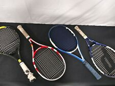 4 MISC TENNIS RACKETS WITH CARRYING CASE (AWESOME DEAL)