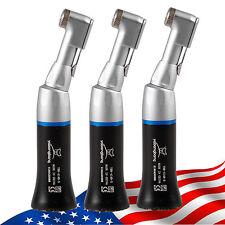 3pcs NSK Style Dental Contra Angle Low Speed Handpiece Latch E-Type Black USA !!