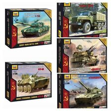 "Model Kits ""Soviet modern military hardware, armed forces Cold war"" 1:100 Zvezda"