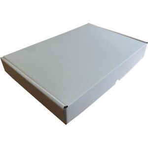 Strong High Quality A4 Small Parcel Mailing/Post Box White (333 X 225 X 47mm)