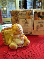 Cherished Teddies Lori Those We Love Chicken Farm Girl Bear Figurine 476439