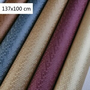 Honeycomb PVC Leather Fabric Plush Back Elastic Upholstery Leather Material Soft