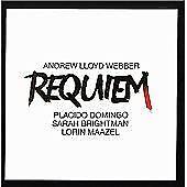 Lloyd Webber: Requiem, Plácido Domingo, Sarah Brightman, Audio CD, New, FREE & F