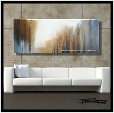Abstract PAINTING Modern Canvas Wall Art, Large, Framed, Signed USA ELOISExxx
