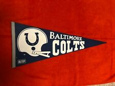 1970's BALTIMORE COLTS FULL SIZE PENNANT