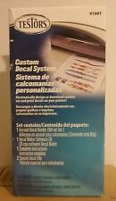 Testors 9198T Custom Decal system.