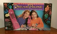 Vintage 1991 Dream Phone Electronic Game 100% Complete Tested Works MB 90s