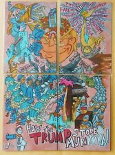 Puzzle Subset: TRUMP by GPK Artist Jay O'Leary TOOFY GROSSER THEN GROSS RARE HTF