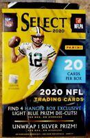 🏈🔥2020 Panini Select NFL Football Hanger Box Maroon Prizm DieCuts🏈🔥