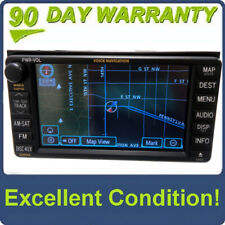 TOYOTA Sienna Navigation GPS System LCD Display Screen E7023 Radio CD Player OEM