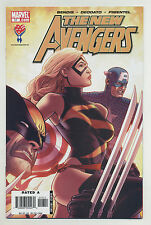 New Avengers #17 2006 Luke Cage Spider-Woman Wolverine Ms Marvel Cap America om