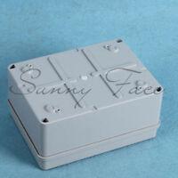 Waterproof Junction Box PVC Adaptable IP65 Outdoor Enclosure 150 x 110 x 70mm