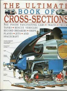 Ultimate Book of Cross-sections by Dorling Kindersley HC/DJ Transportation