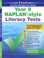 New Excel Naplan Style Literacy English Test Grade 6 / Year 6 Workbook!
