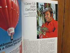 Feb. 2-1974 TV Guide(DOM DELUISE/CLINT WALKER/JASON ROBARDS/KILLDOZER/LOTSA LUCK