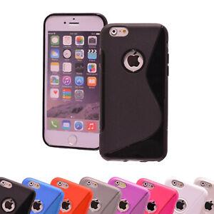 Schutzhülle Apple iPhone Silikon Handyhülle Cover Case Hülle Tasche Backcover