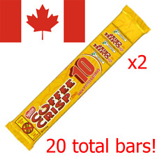 20 Coffee Crisp 11.5g Mini Chocolate Bars Nestle Canadian Candy FREE SHIP TO USA