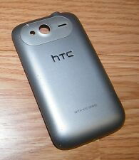 *Replacement* Silver Battery Cover / Door For HTC Wildfire S (Virgin Mobile)