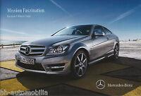 6043MB Mercedes C-Klasse Coupe Prospekt 2011 3.3.11 brochure