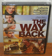 The Way Back (DVD, 2011) Colin Farrell Ed Harris BRAND NEW SEALED!!!