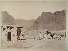 Biskra El Kantara Algérie Afrique du Nord Vintage albumen albuminé, ca 1875
