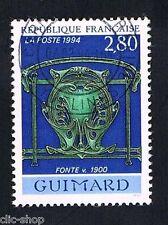 1 FRANCOBOLLO FRANCIA ARTE GUIMARD 1994 usato