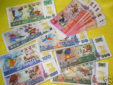 Singapore Hell Bird Series Money Banknote 8 Stack II