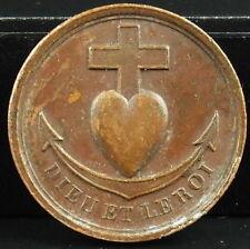 medal Propaganda royalist in favor of Henri Dieudonné V'Artois King medal