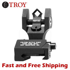 Troy Industries DOA Di-Optic Aperture BattleSight Folding Rear Sight Dioptic