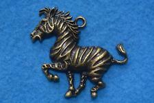 B017 breloque scrapbooking pendentif BRICOLAGE bracelet collier Zébre cheval