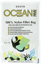 """OCEAN FIVE HIGH PERFORMANCE POLY MEDIA BAG 6X14"""" WITH DRAWSTRING. USA"""