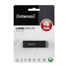 MAGNIFIQUE CLE USB HAUT DE GAMME NOIR / GRIS ANTHRACITE 4go Intenso noire grise