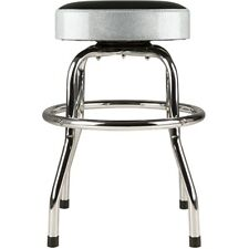 Fender Black and Silver Sparkle 30 Inch Barstool W/padded Seat #0993001001 -