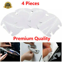 4PCs Invisible Clear Car SUV Door Handle Anti Scratch Protector Guard Film Sheet