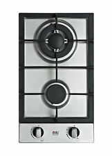 Domino 302-S 30cm Built-in Gas hob 2 burner Cooktop Stainless steel LPG / NG NEW