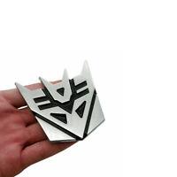 3D Decepticons Transformers Emblem Badge Graphics Decal Car Bumper Trunk Sticker