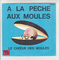"""Patrick BURGEL Vinyle 45T SP 7"""" AH LA PECHE AUX MOULES MAMAN - RED FLY 990.292"""