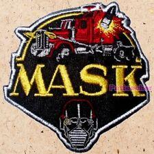 M.A.S.K. Logo Patch Matt Trakker Thunder Hawk Spectrum Viper Mask Venom T-Bob