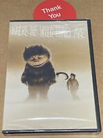Where the Wild Things Are (DVD, 2010) ***Brand New***