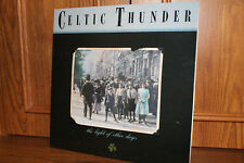 CELTIC THUNDER The Light of Other Days LP Green Linnet 1086 1988 Autographed EX