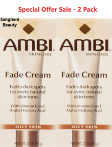 SKIN DISCOLOURATION FADE CREAM 2OZ - OILY SKIN - TRACKED POSTAGE X 2 PACKS