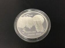 1994 $5 silver coin Charles Sturt - ex masterpieces set