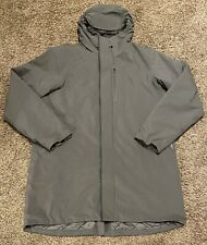Mountain Hardware Men's Gray ZeroGrand Cole Haan Trench Coat Size XL